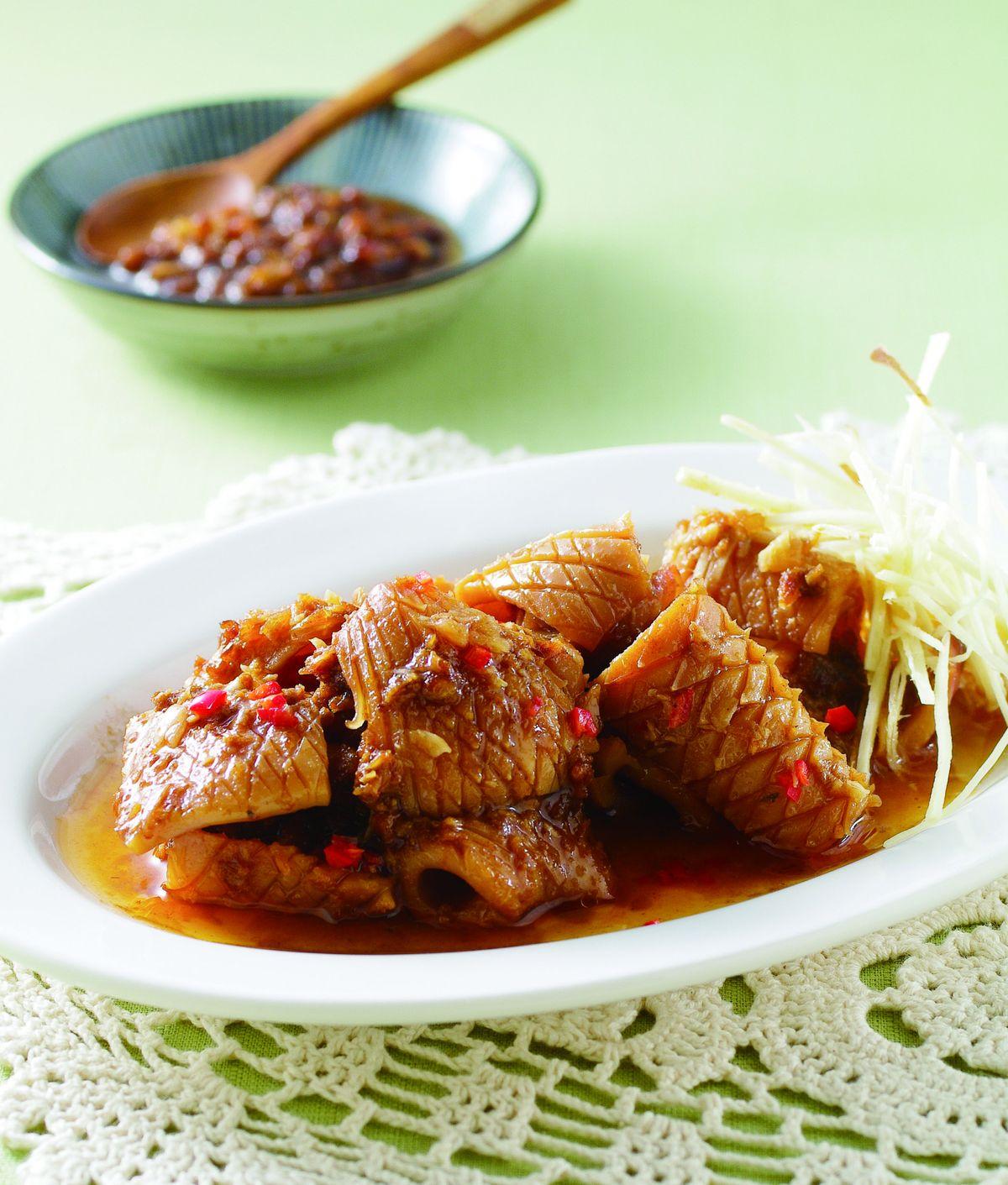 食譜:香蒜沙茶魷魚