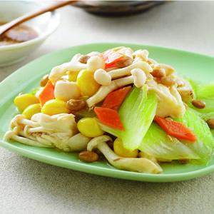 豆醬美白菇