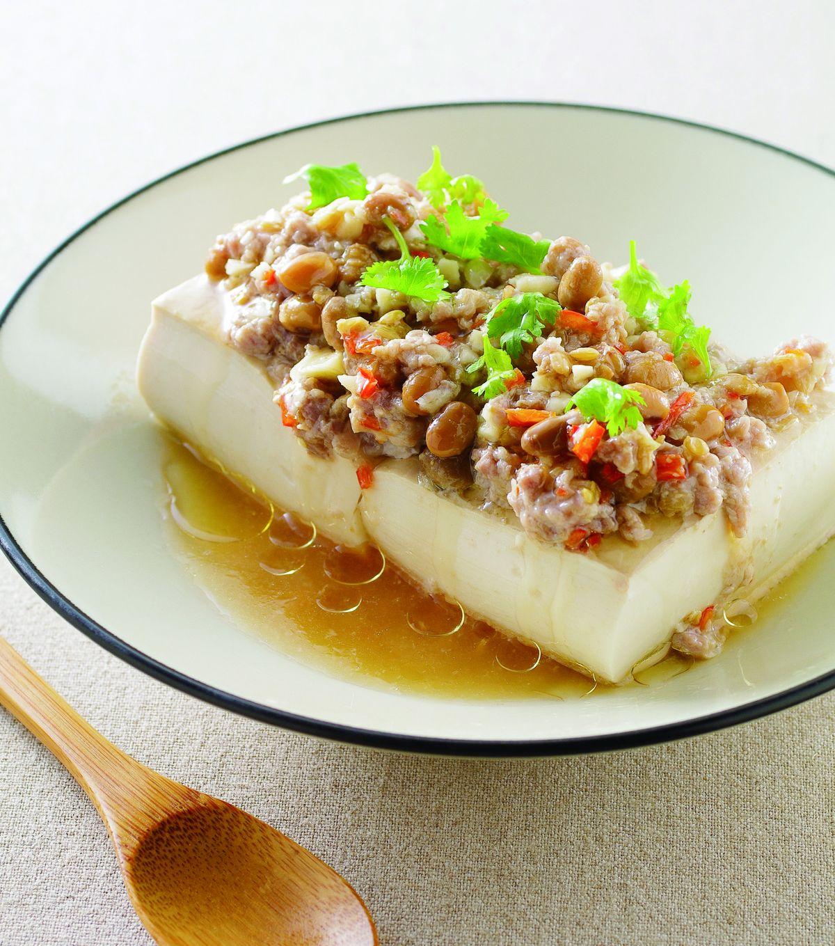 食譜:豆醬蒸豆腐
