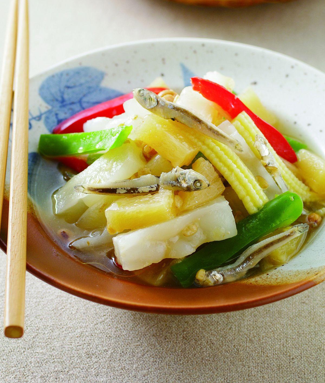 食譜:鹹鳳梨小魚乾苦瓜