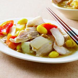 鹹冬瓜鳳梨鯛魚片