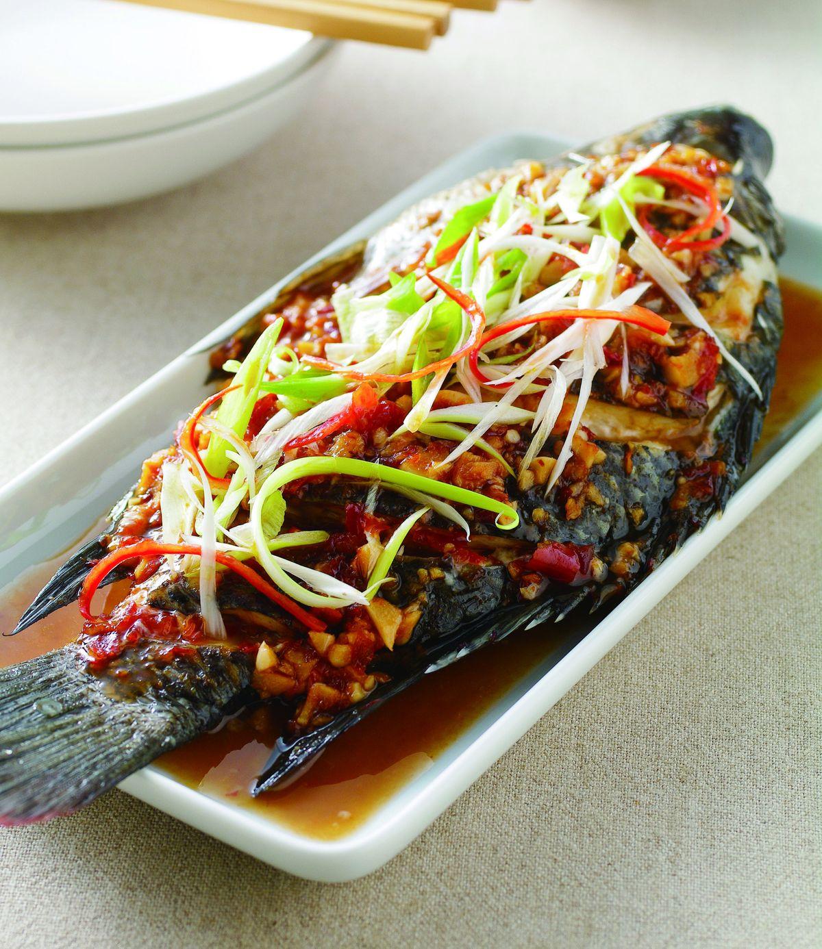 食譜:乾燒吳郭魚