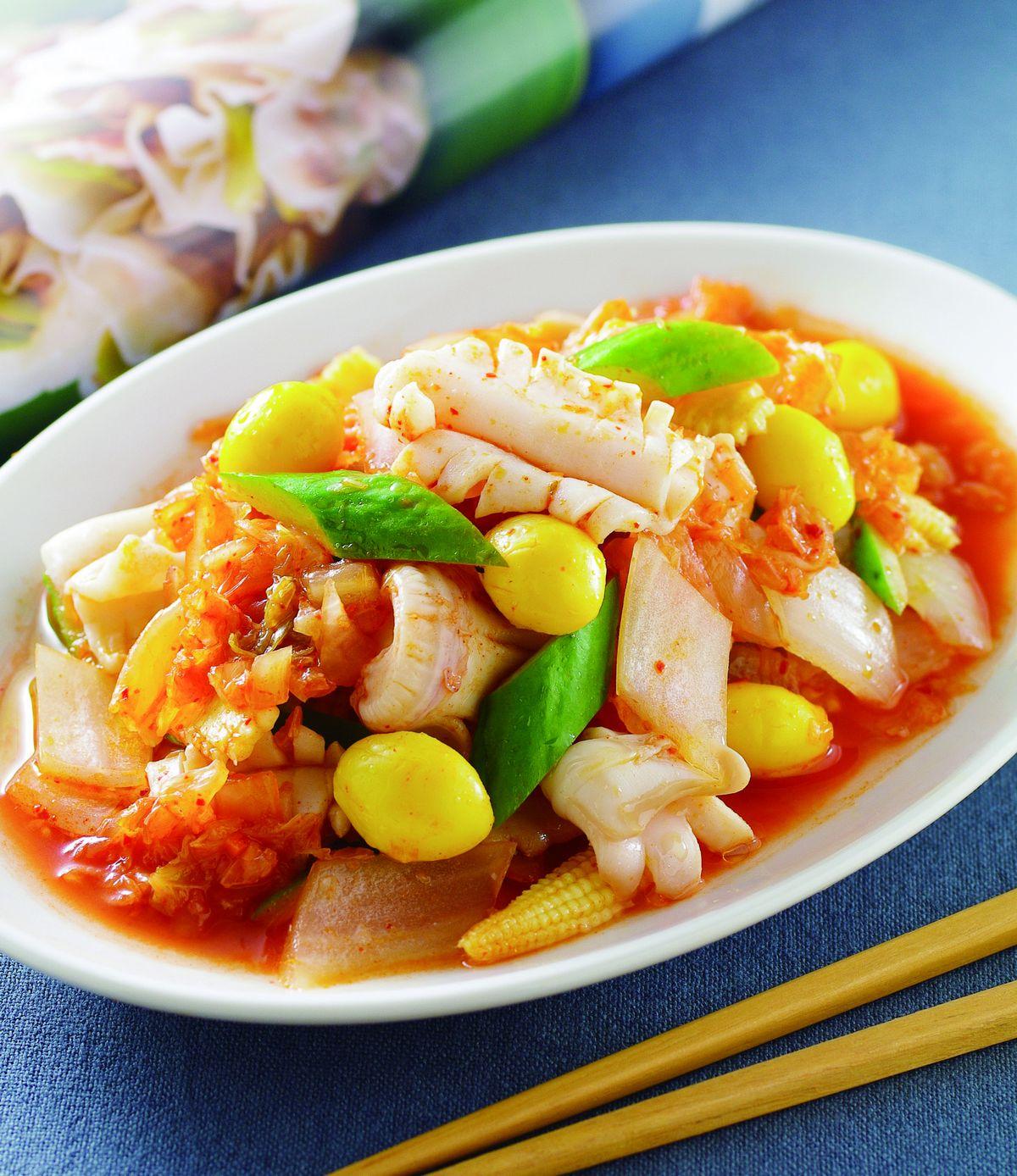食譜:泡菜中卷