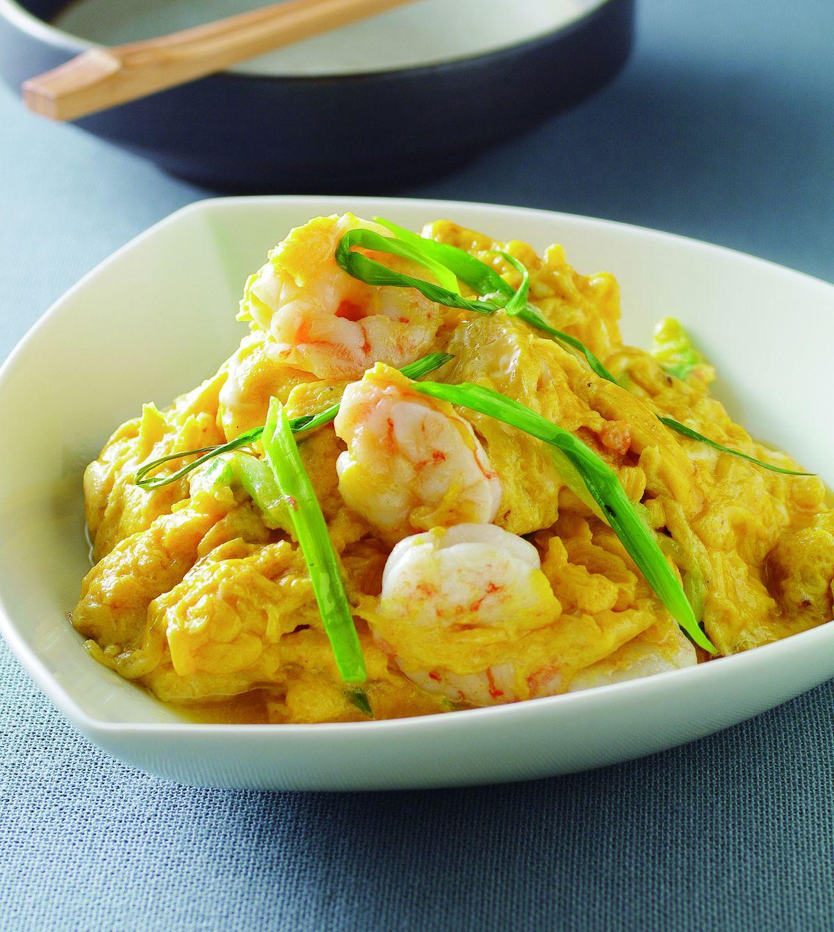 食譜:蛋香蝦仁