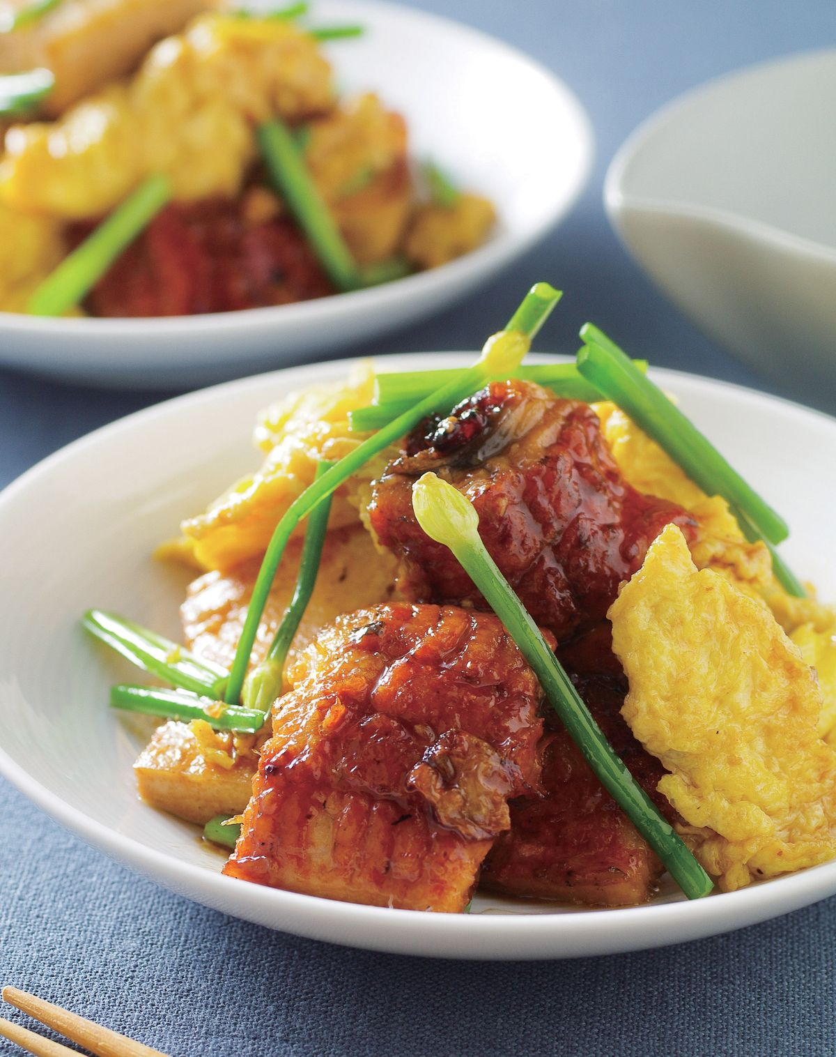 食譜:紅燒鰻魚蛋豆腐