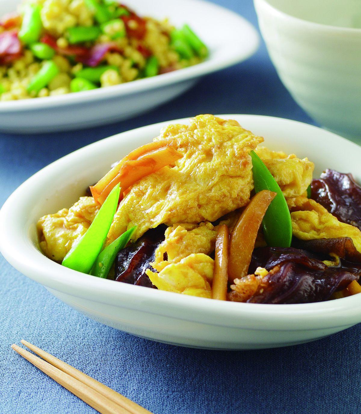 食譜:木須炒蛋(2)