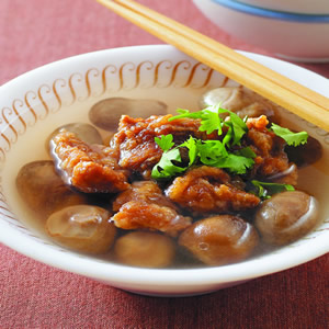 草菇排骨湯
