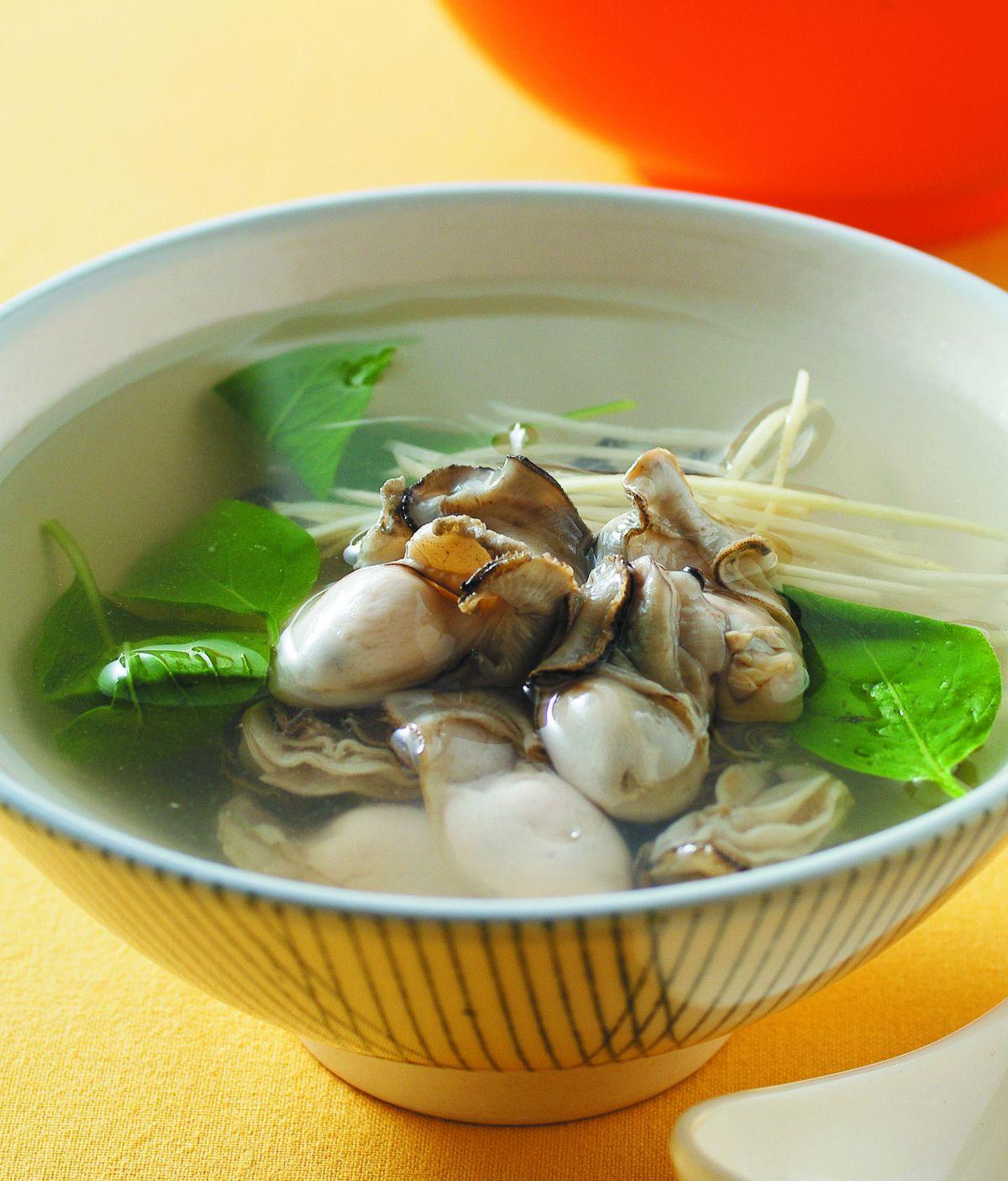 食譜:鮮蚵湯