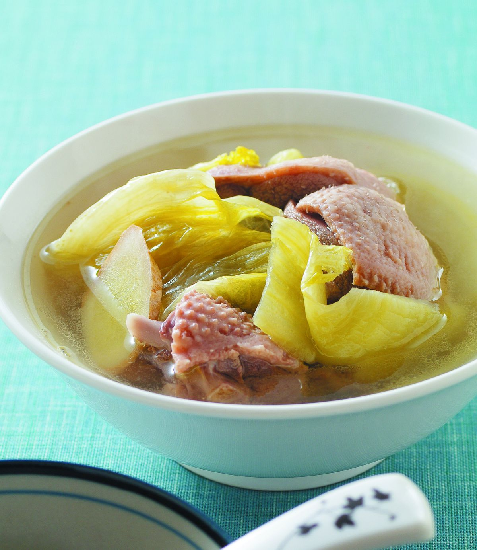 食譜:酸菜鴨(2)