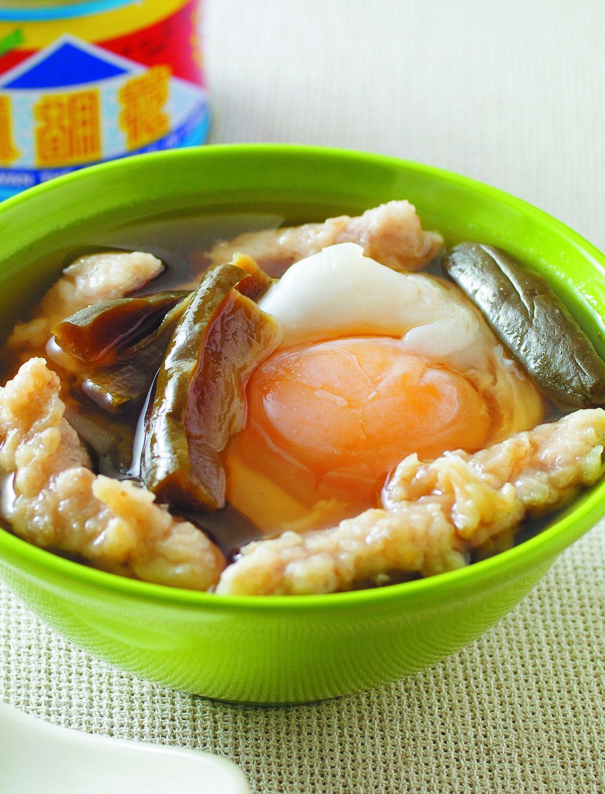 食譜:蛋包瓜仔肉湯
