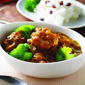 唐揚椰香雞肉咖哩