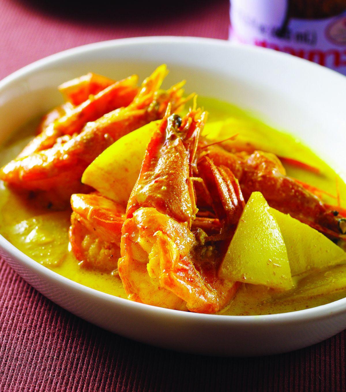 食譜:椰奶蝦(1)