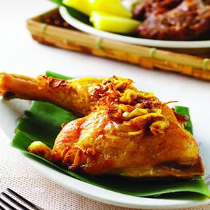 香料咖哩烤雞
