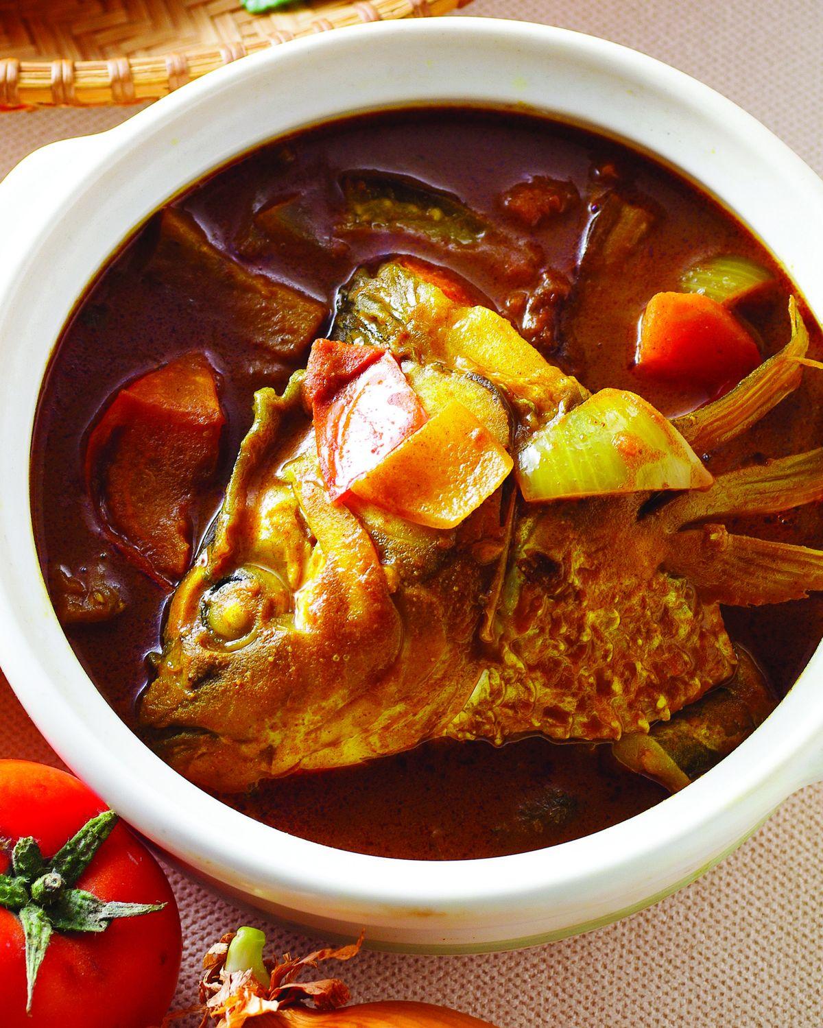 食譜:咖哩魚頭(3)
