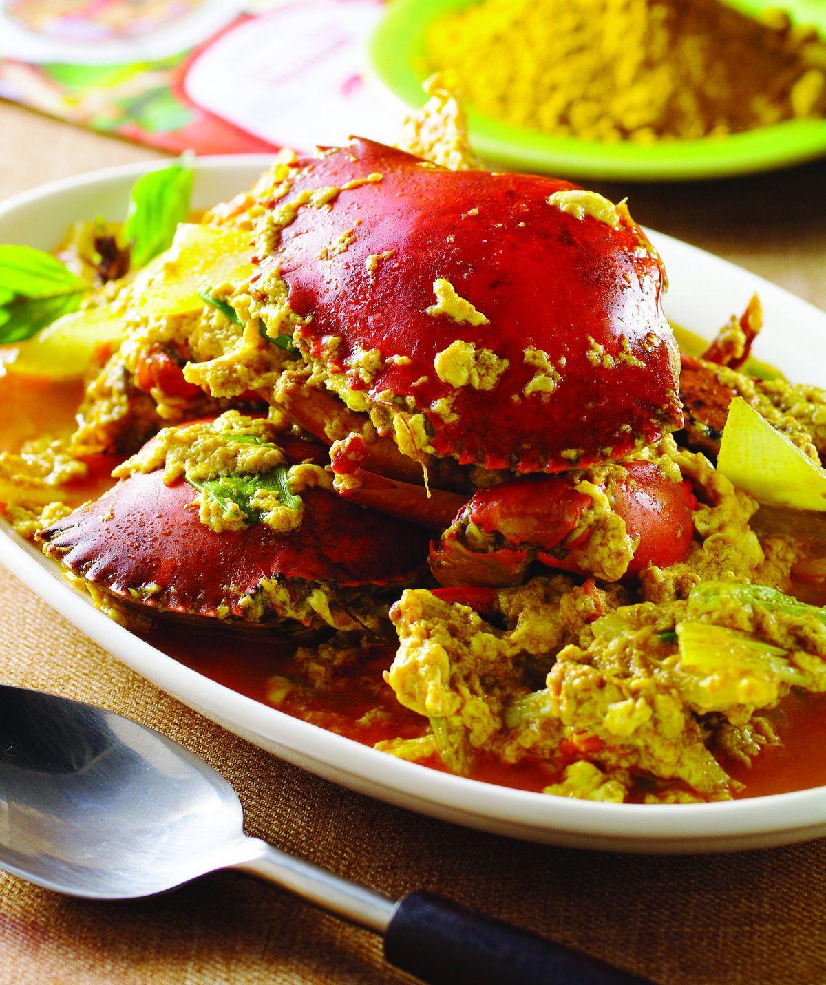 食譜:咖哩炒蟹
