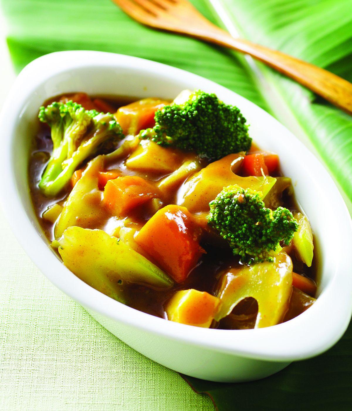 食譜:日式咖哩蔬菜