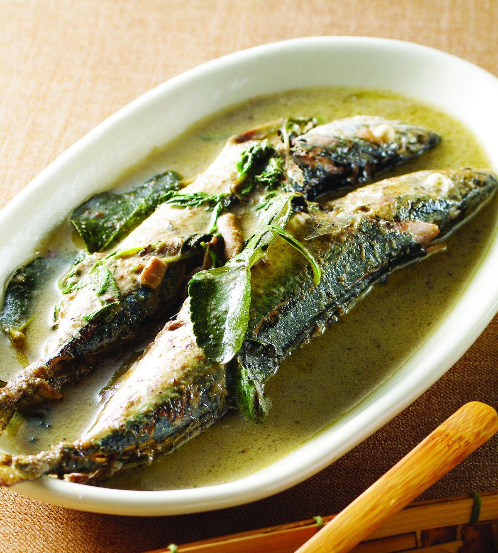 食譜:綠咖哩魚