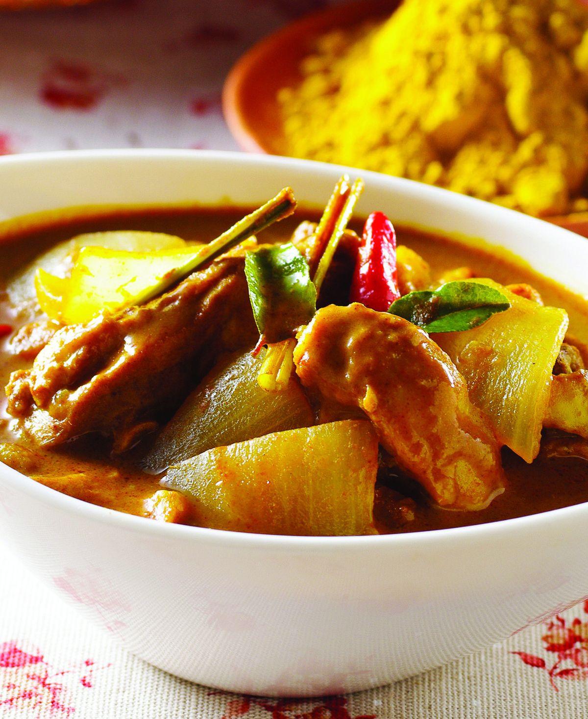食譜:馬來咖哩雞