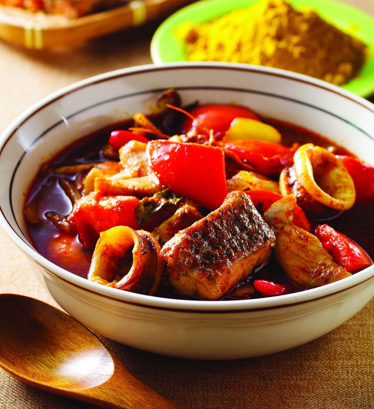 食譜:參巴咖哩海鮮