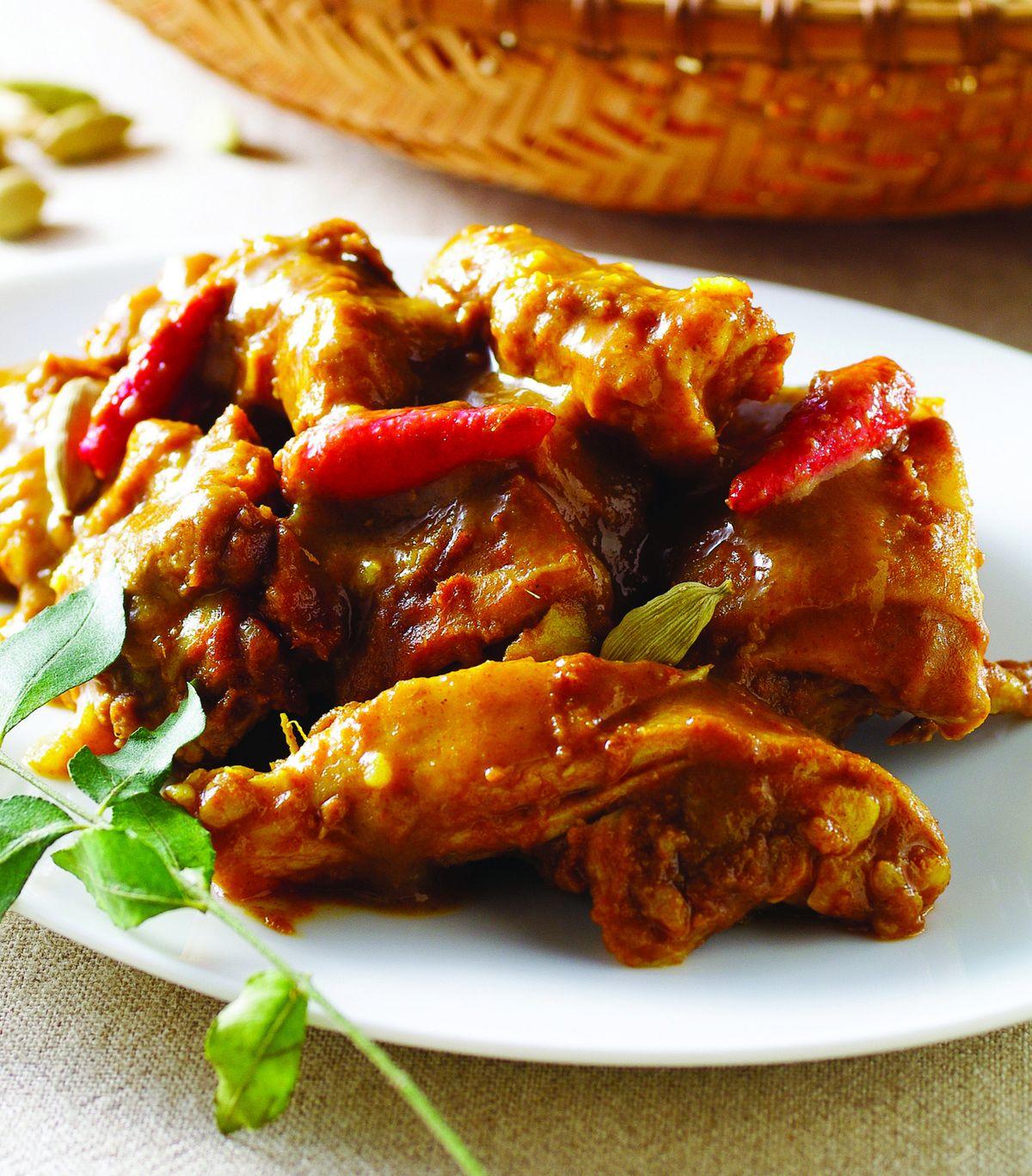 食譜:乾咖哩雞