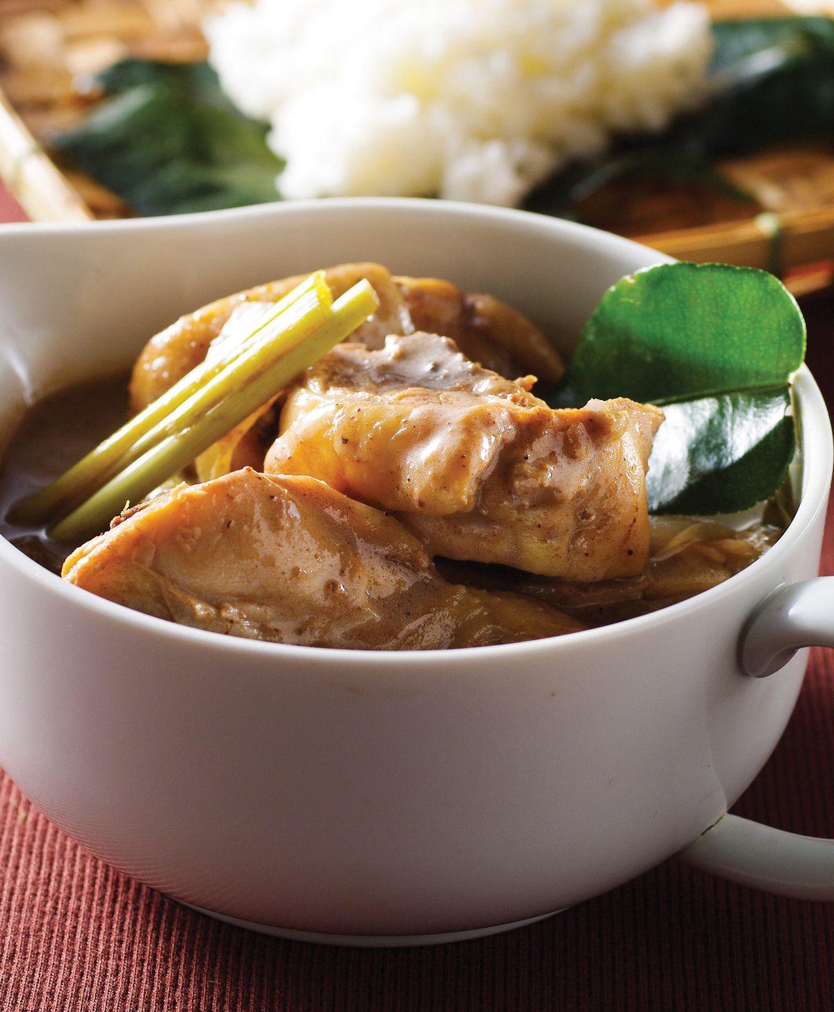 食譜:古魯瑪咖哩雞