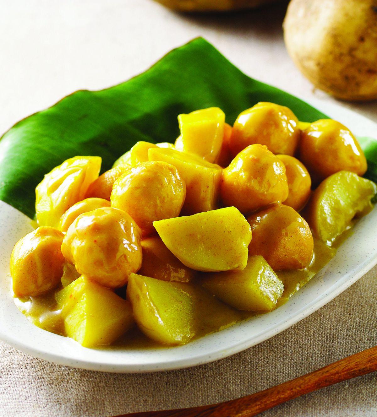 食譜:咖哩魚蛋(2)
