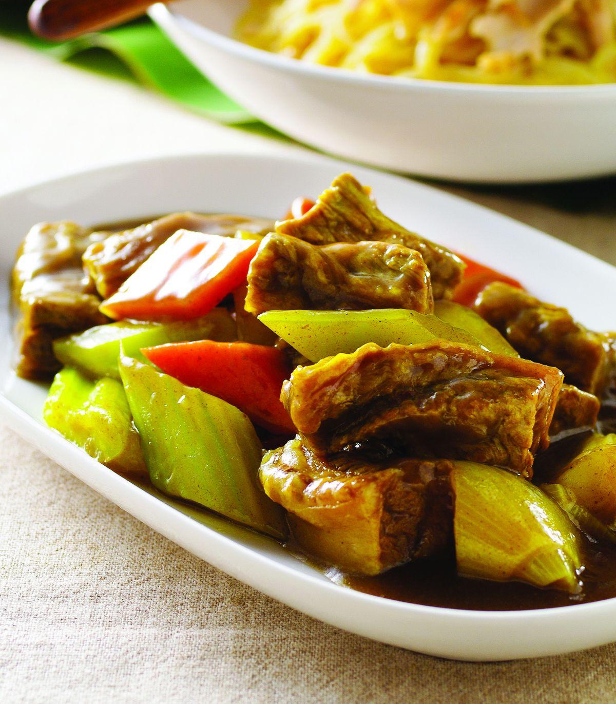食譜:馬德拉斯咖哩