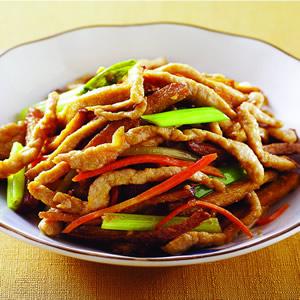 豆干炒肉絲(1)