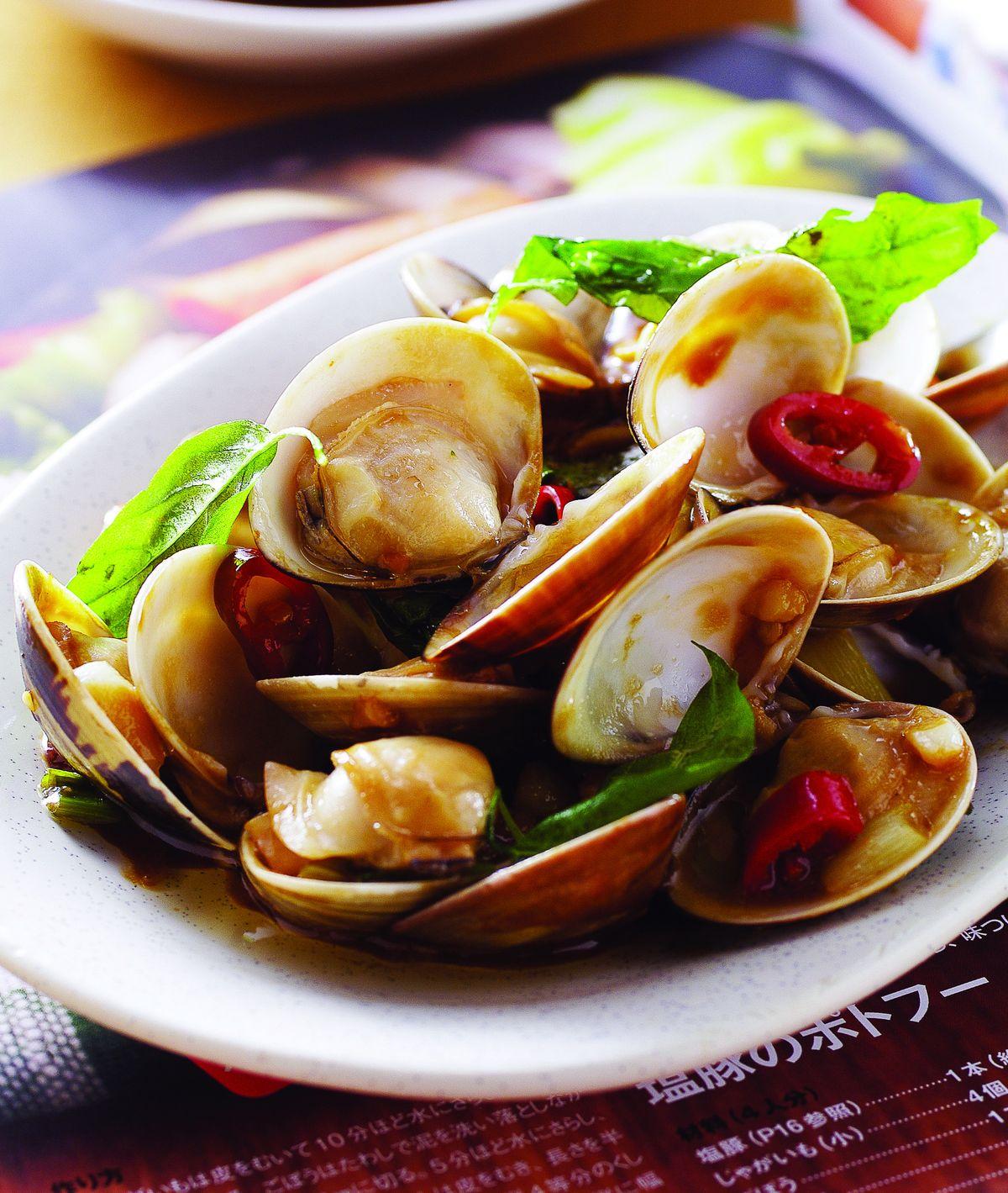 食譜:塔香蛤蜊(1)