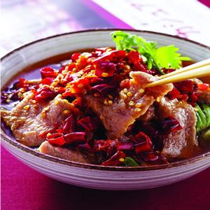 川味水煮牛肉片(1)
