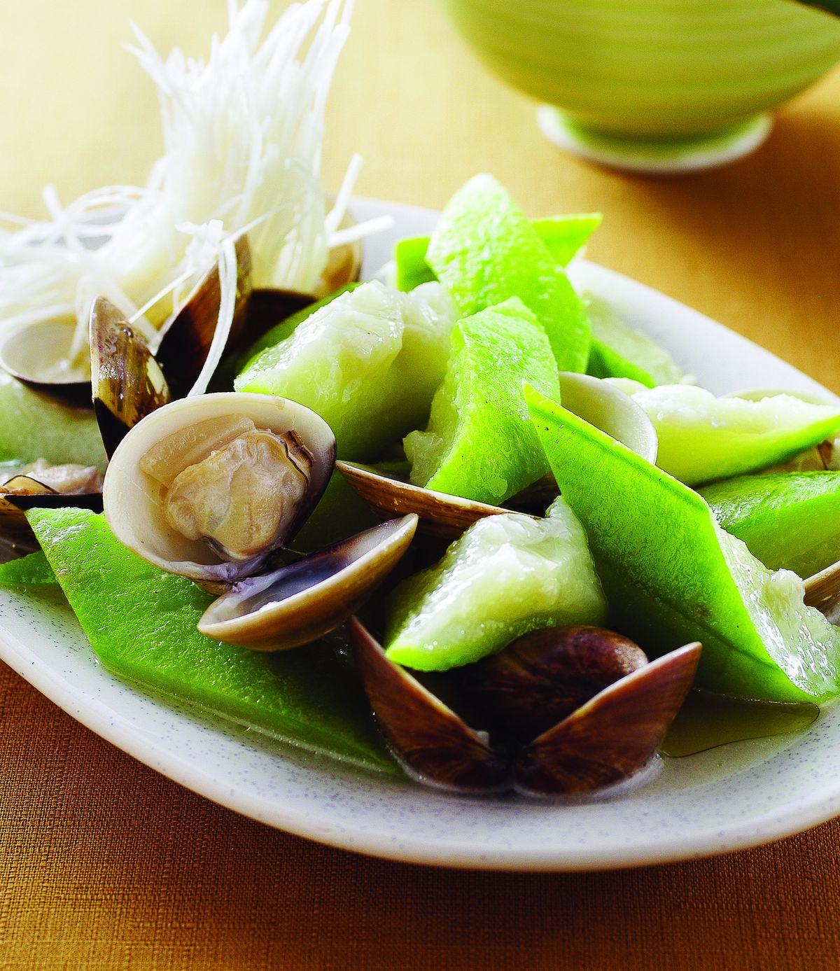 食譜:蛤蜊絲瓜(10)
