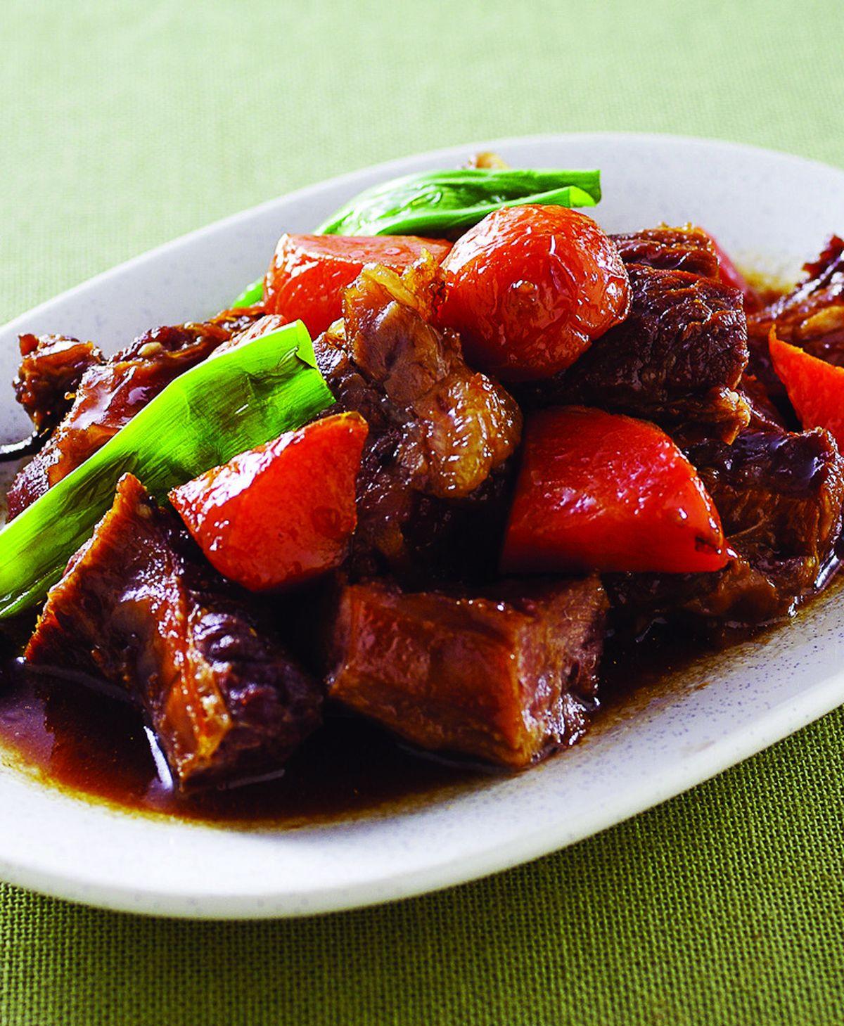 食譜:紅燒牛腩(8)