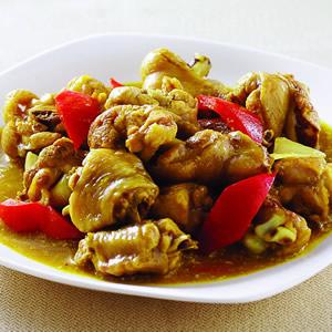 咖哩燒雞塊