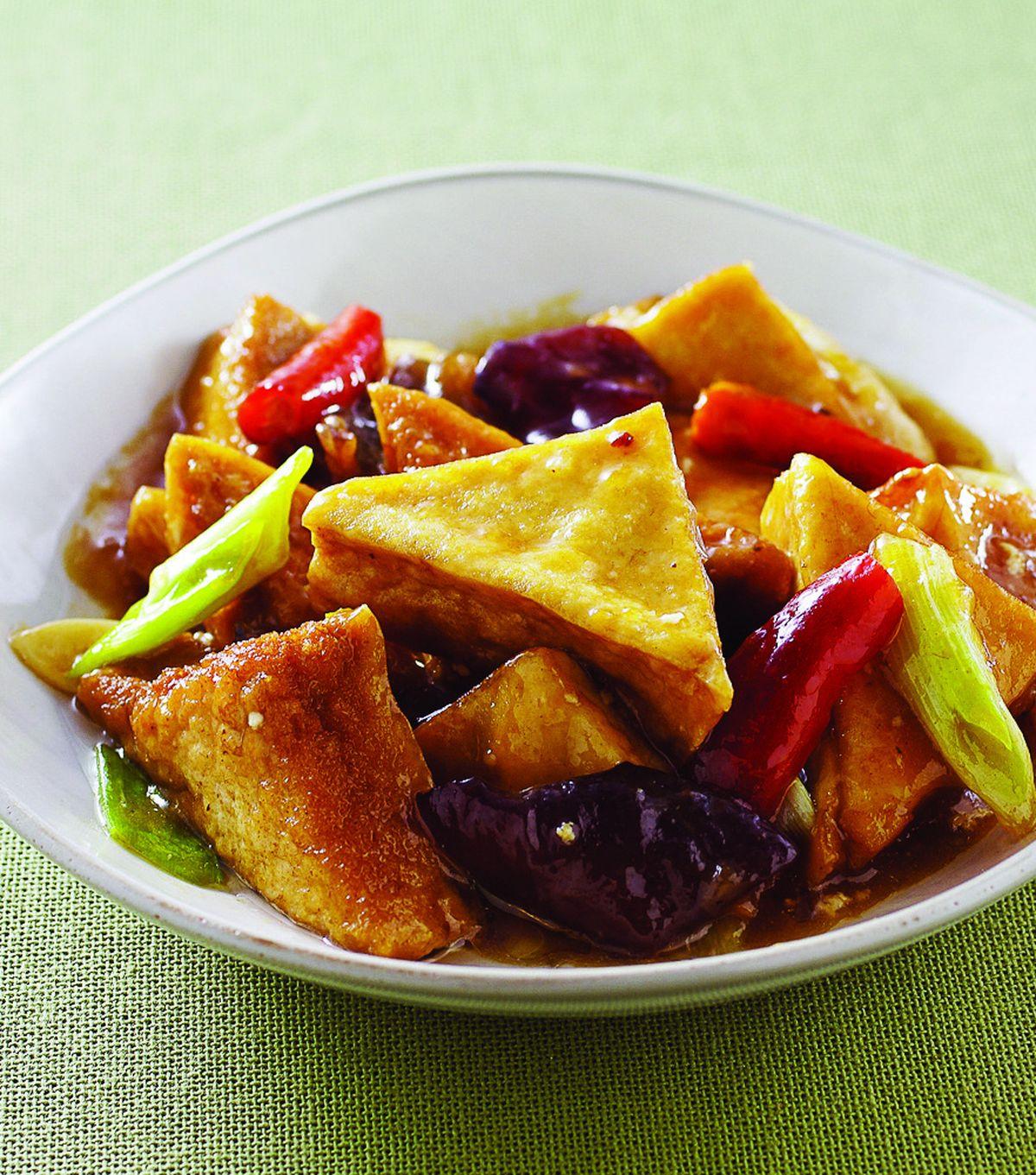 食譜:醬燒豆腐