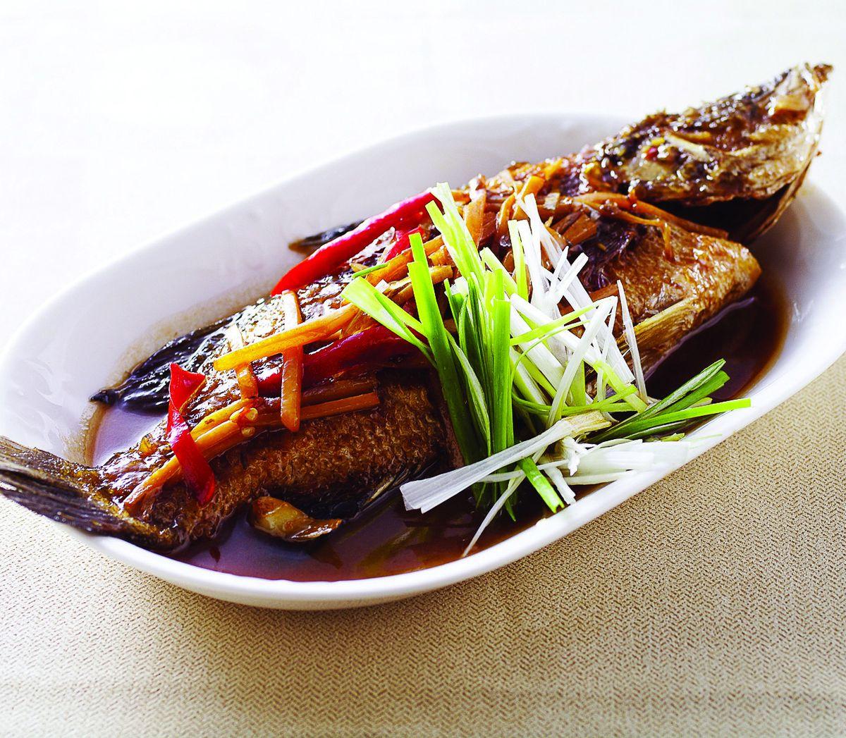 食譜:薑燒鮮魚