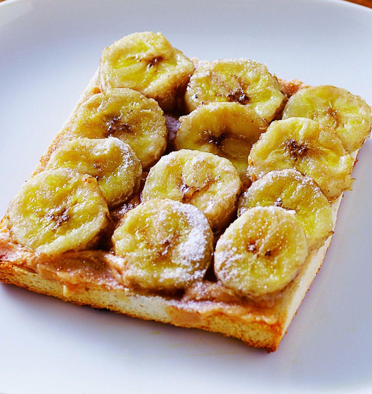 食譜:香蕉花生醬土司(2)