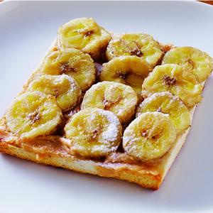 香蕉花生醬土司(2)