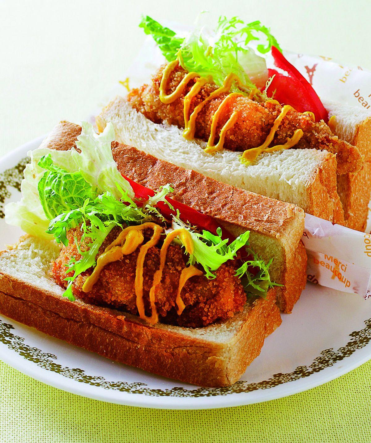 食譜:芥末炸雞HOT三明治