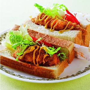 芥末炸雞HOT三明治