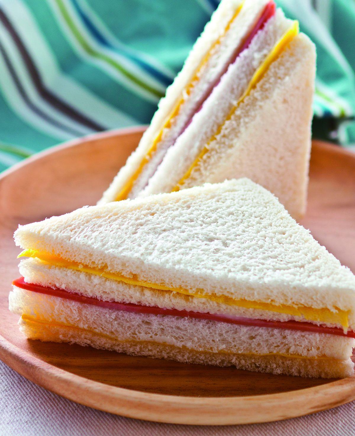 食譜:招牌火腿蛋三明治