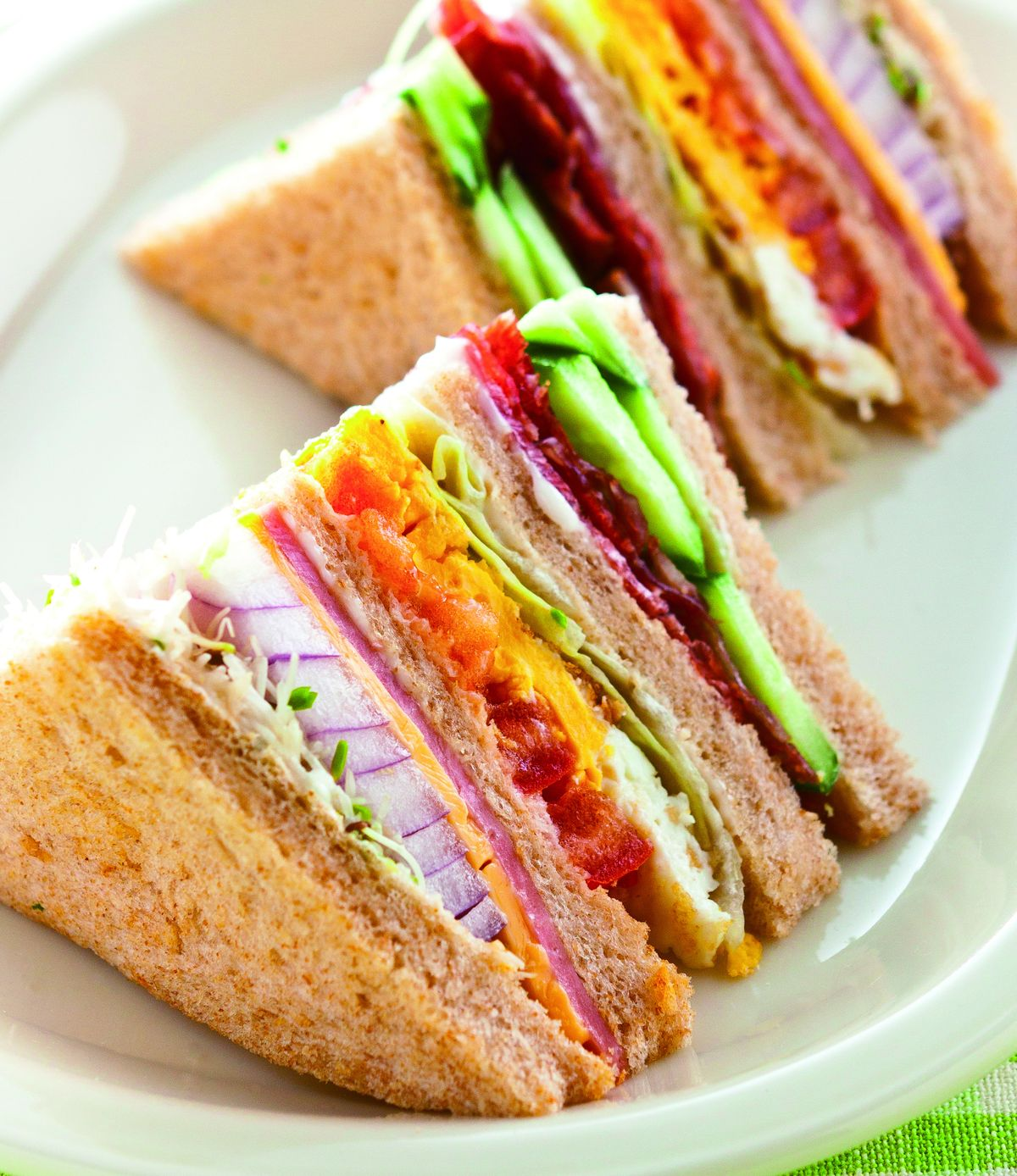 食譜:總匯三明治(8)