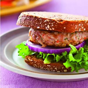 漢堡排三明治