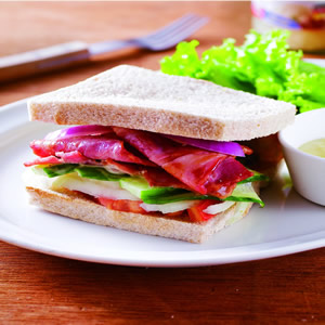培根蛋三明治