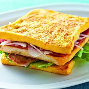 法式火腿豬排三明治