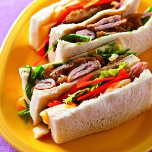 照燒肉片三明治(1)