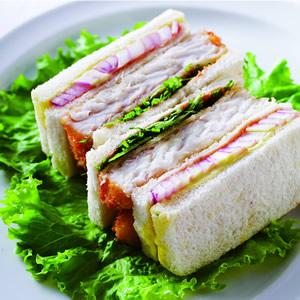 酥炸魚排三明治