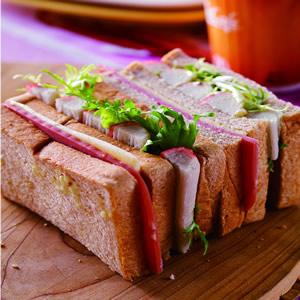 蟹肉三明治