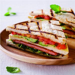 碳烤豬排三明治