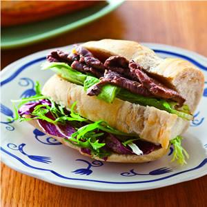 義式香草牛肉三明治