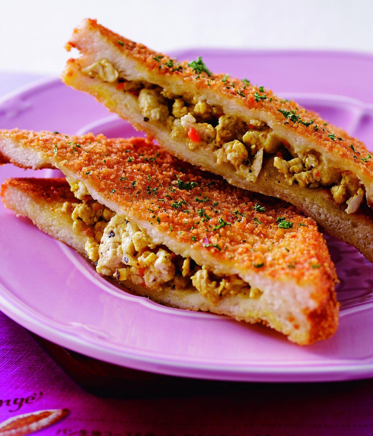 食譜:咖哩雞肉三明治
